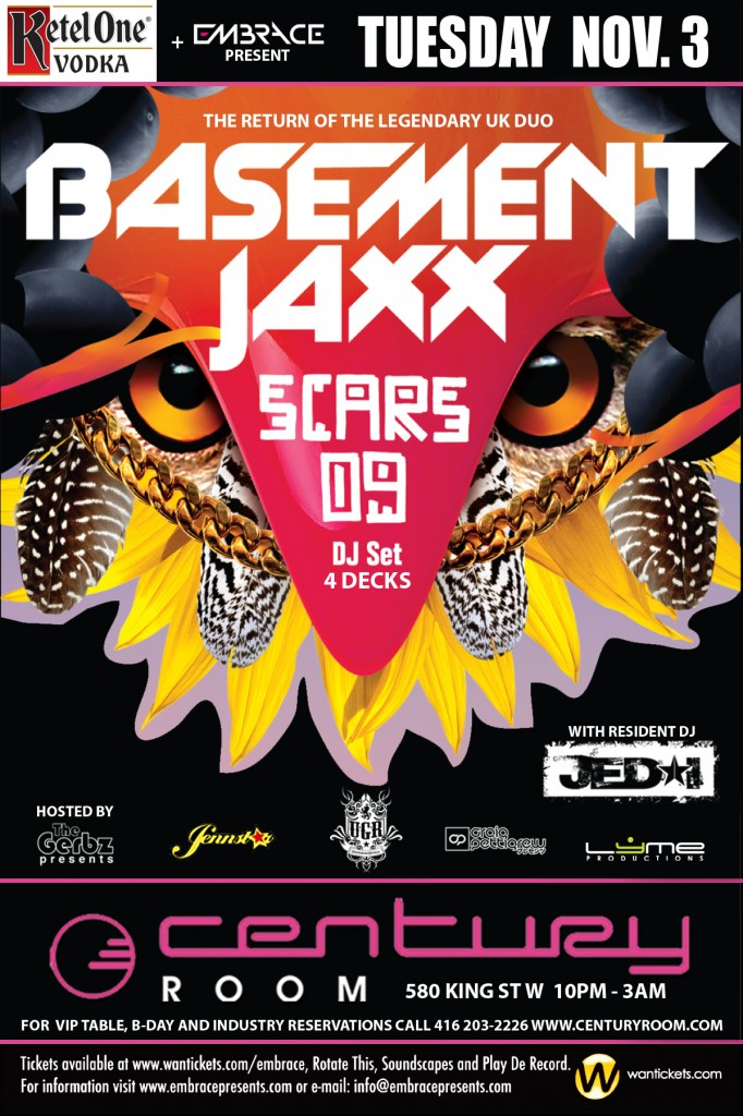 Earmilk and Embrace Present: Basement Jaxx Dj Set