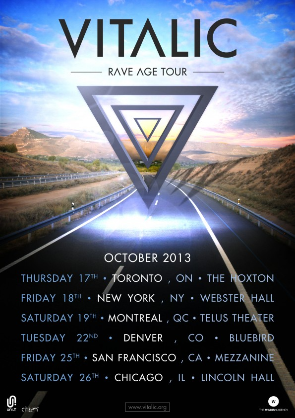 VITALIC TOUR FLYER
