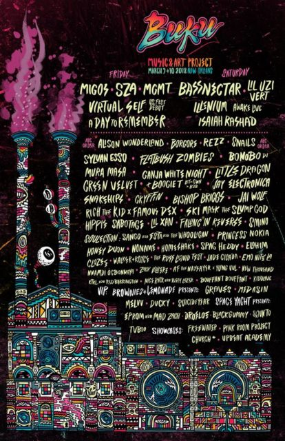 BUKU Music + Arts Project 2018